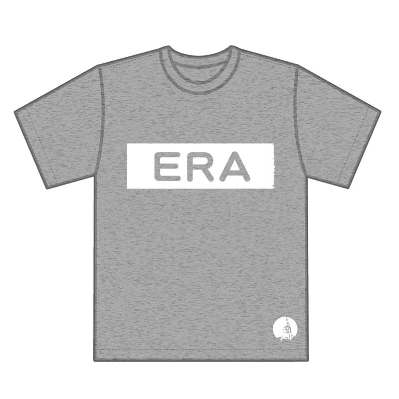 ERA -モノクロ- T-shirts クロver.